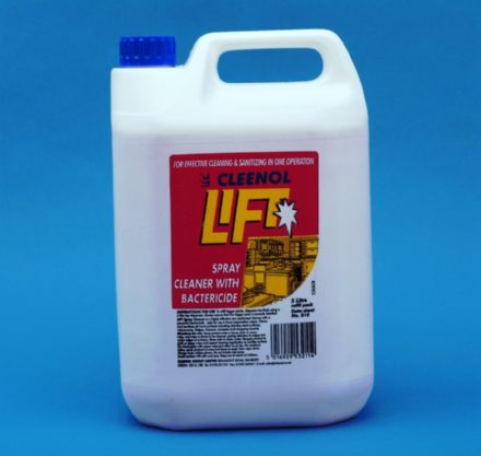 Lift Spray Cleaner With Bactericide 2x5lt